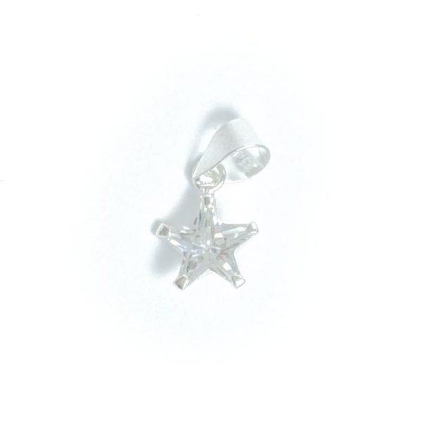 Dije estrella cristal