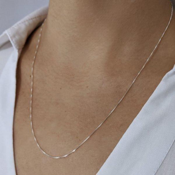Cadena veneciana hilo 12 cuello