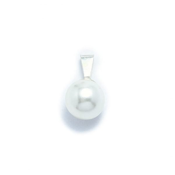 dije de perla 10mm