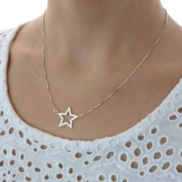 Collar estrella calada cuello 2
