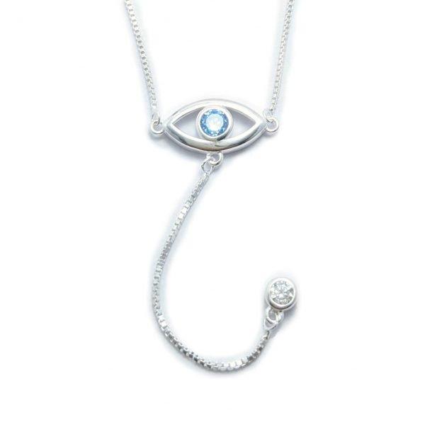 collar ojo turco cubic