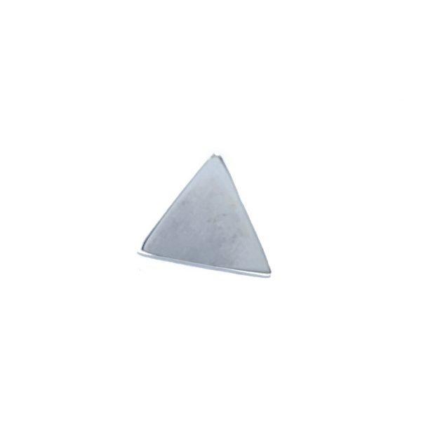 dije triángulo pasante