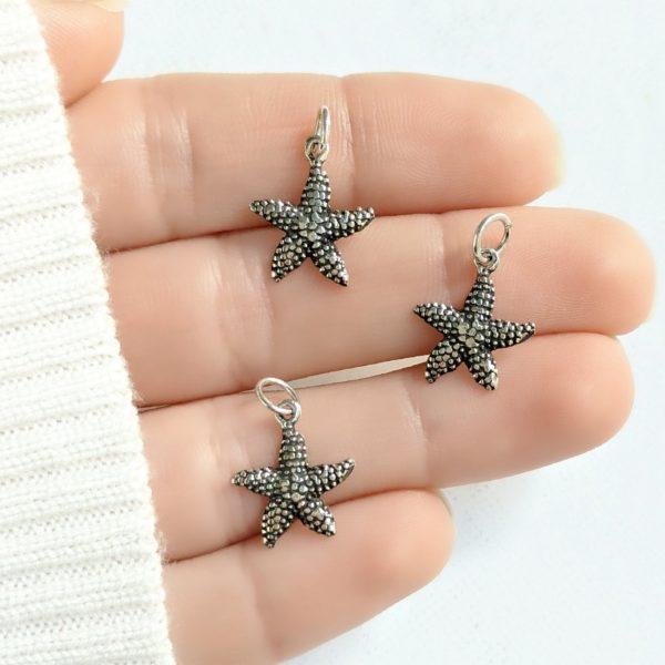 Dije estrella de mar