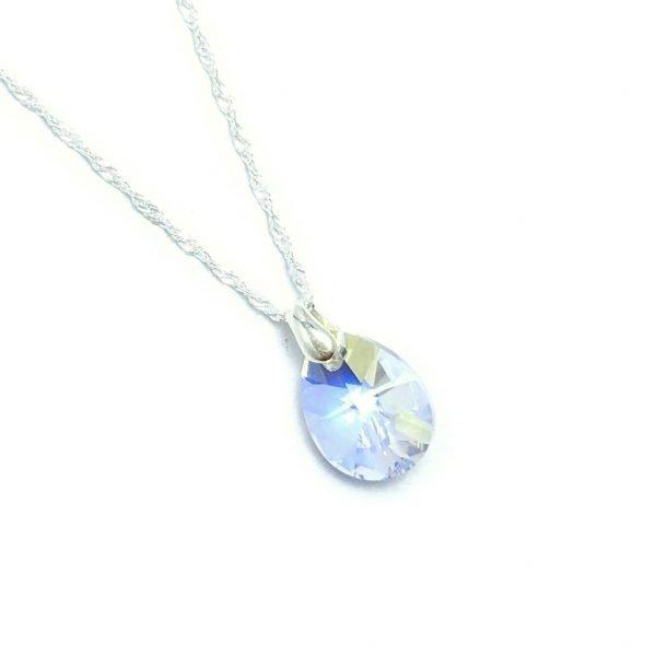 Collar cristal sw Gota aurora boreal 12mm