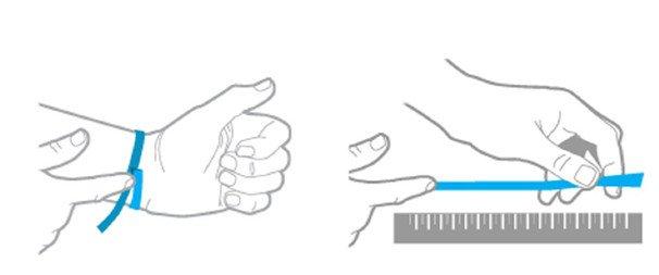 medidas pulsera flexible