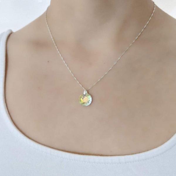 Collar Swarovski sol