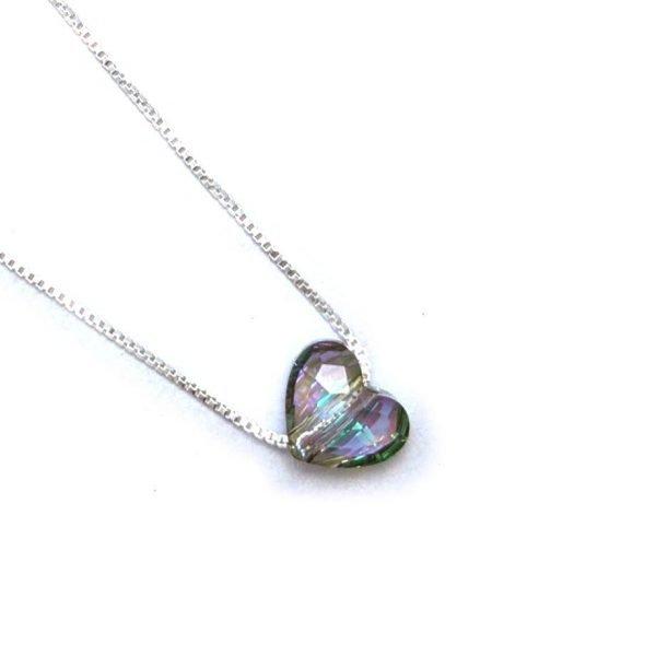 Collar Swarovski corazon