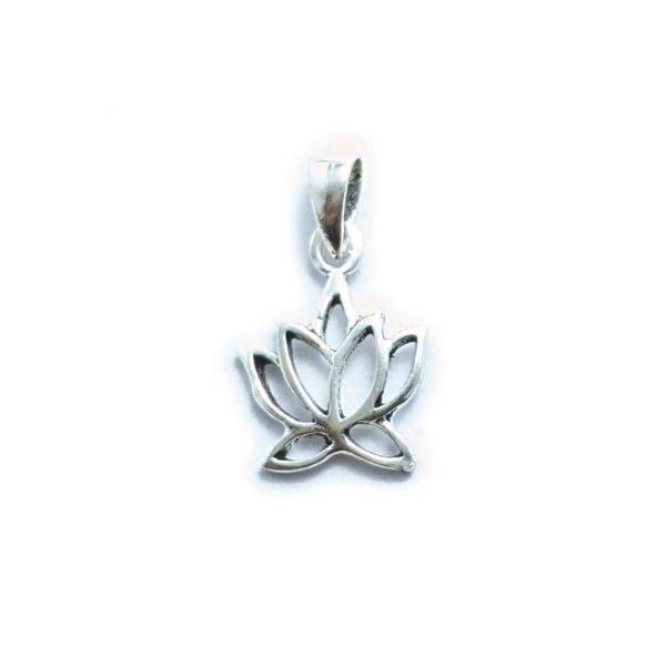 Dije flor de loto 12mm