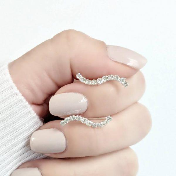 Aros trepadores cristal 19mm